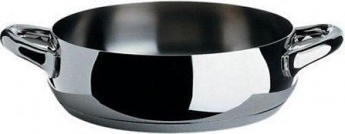 Alessi-SG102   24-Mami, faible casserole avec deux poignée