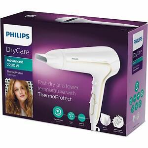 Détails sur Philips Sèche Cheveux Professionnel Soins Cheveux Puissance 2200 W 6 Réglages