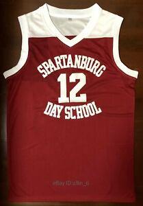 Zion-Williamson-Spartanburg-Day-School-High-School-Men-039-s-Basketball-Jersey-Red