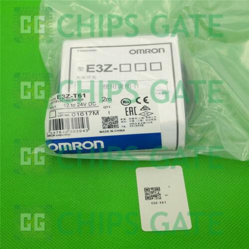 Interruptor Fotoeléctrico nuevo 12-24VDC E3Z-T61-L/&E3Z-T61-D Omron E3Z-T61 YW