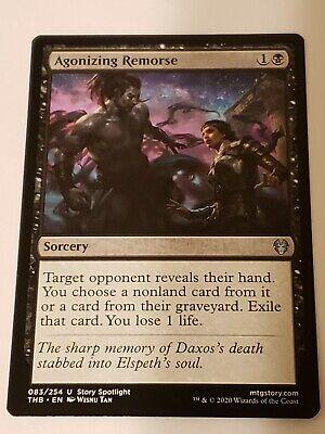 Agonizing Remorse ~ Theros Beyond Death Magic MTG NearMint
