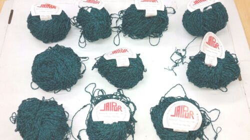wolle z stricken-Häkelgarn-smaragd 500gr strickwolle effektgarn meliert Stricken