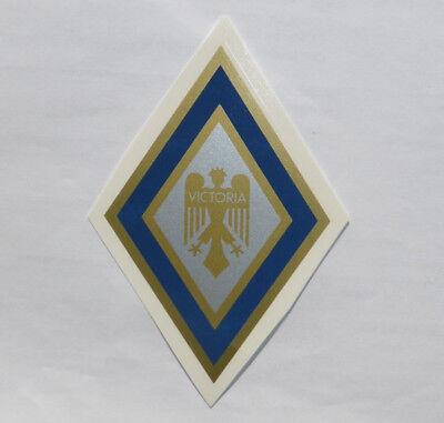 100% QualitäT Victoria Schriftzug Abziehbild Wasserabziehbild 70x105mm Blau-gold-silber 00512v Jade Weiß Aufkleber