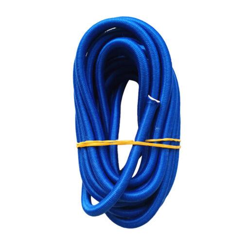 Blau Planenseil spannen 5mm Gummikordel Expanderseil Gummiseil Expanderleine