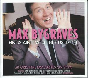 Max-Bygraves-Fings-Ain-039-t-Wot-They-Used-T-039-Be-The-Best-Of-Greatest-Hits-2CD