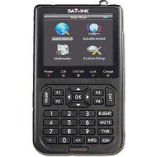 +++ Profi Sat Messgerät Satfinder Digital  Satlink WS-6908 DVB-S TFT 8,9cm +++