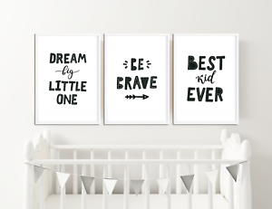 Image Is Loading Monochrome Nursery Prints Baby Room Decor Pictures For