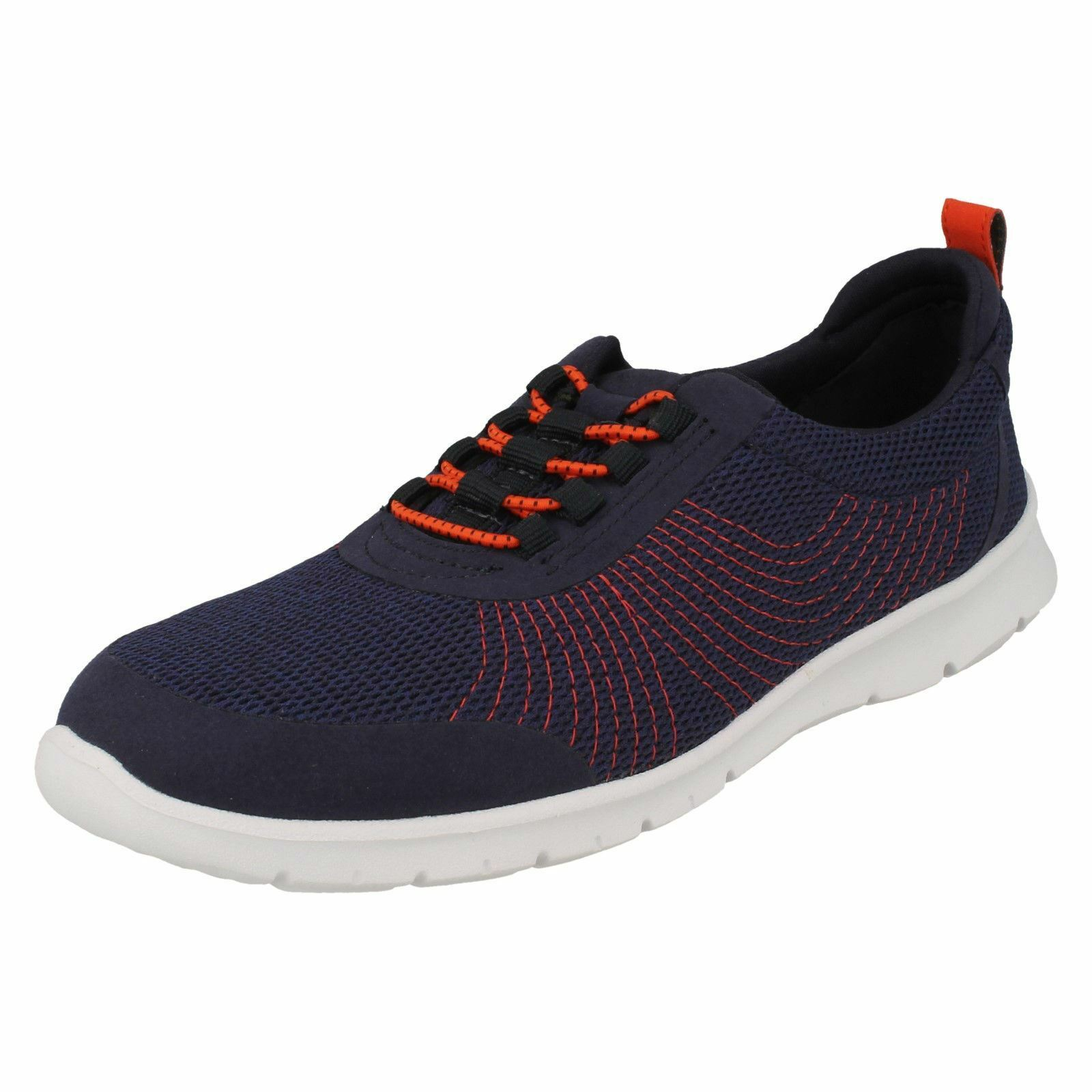 Ladies Clarks Clarks Clarks Elasticated Fastener Sports Trainers - Step Allena Bay ad65d4