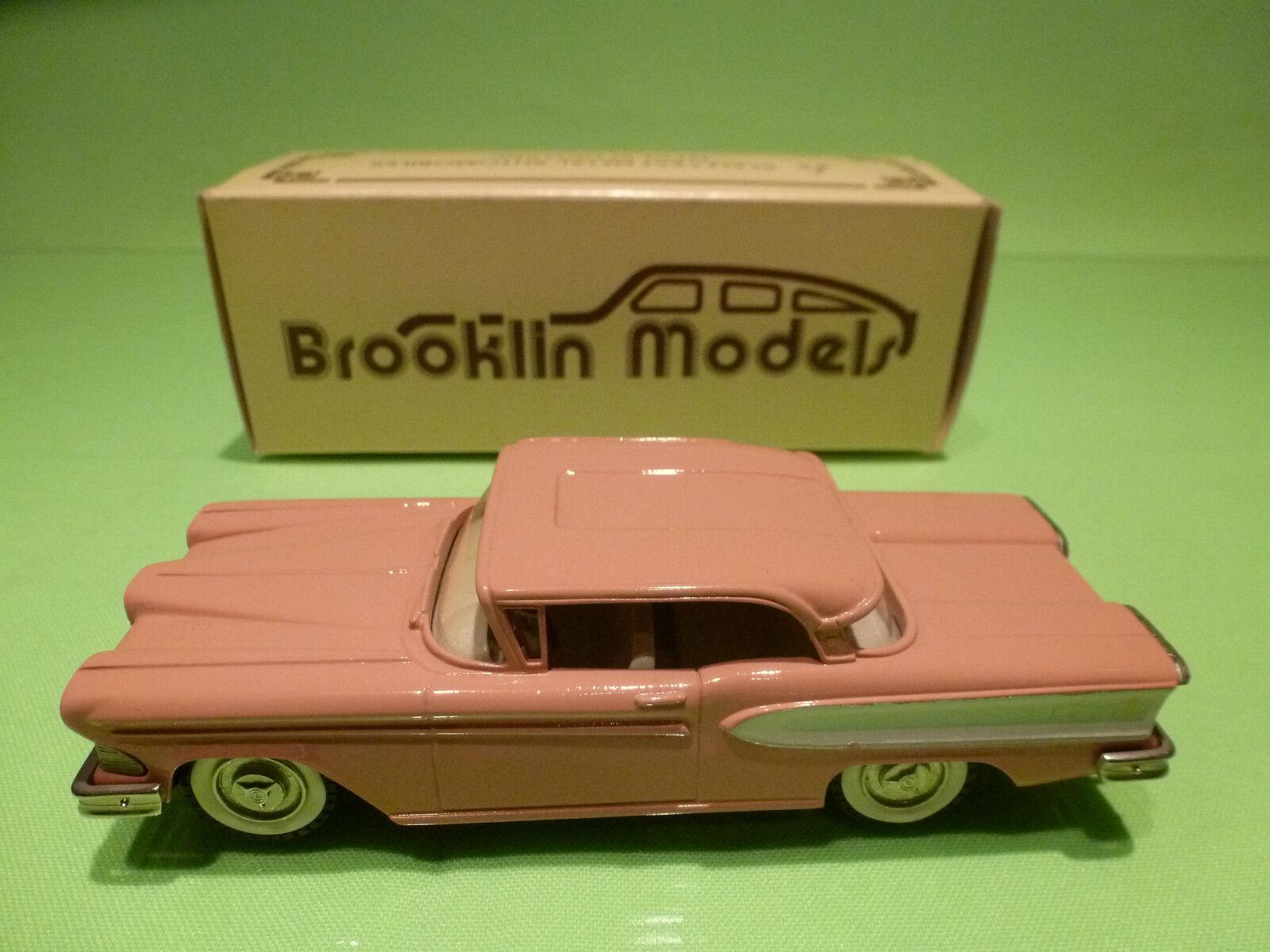 BROOKLIN MODELS BRK 22 22 22 EDSEL CITATION TWO-DOOR HARDTOP 1958 - 1 43 - NMIB 51b917