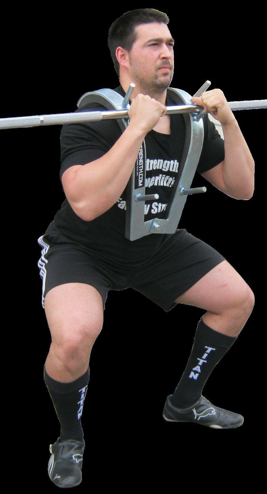 dcaf4e90d883 GetStrength Front Squat Zercher Harness - Powerlifting - Weightlifting
