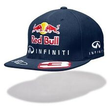 CAP Infiniti Red Bull Racing Formula One 1 F1 Ricciardo No.3 Flat Brim Peak NEW!