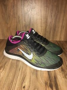 Details about CUTE Nike Free 3.0 v5 Print Womens Running Shoes 648341 068 Multi Color Size 9.5