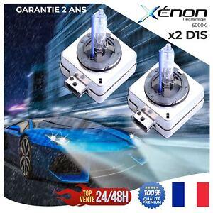 2-AMPOULES-D1S-35W-12V-LAMPE-RECHANGE-REMPLACEMENT-FEU-XENON-KIT-HID-6000K