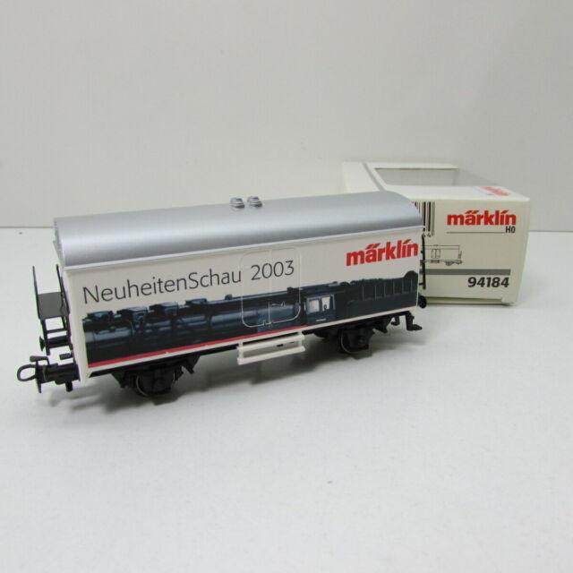 Märklin 94184 2-Achser Kühlwagen Neuheitenschau 2003 Spur H0 OVP