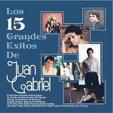 Juan Gabriel - 15 Grandes Exitos de Juan Gabriel [New CD]