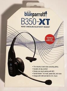 Vxi Blue Parro Noise Cancelling Trucker Bluetooth Cell Phone Headset B350xt Ebay