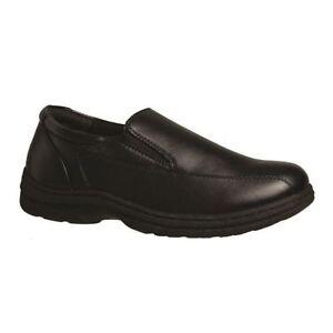 MENS-GROSBY-JASPER-BLACK-DRESS-WORK-FORMAL-DRESS-SHOES-MEN-039-S-SLIP-ON-SHOES