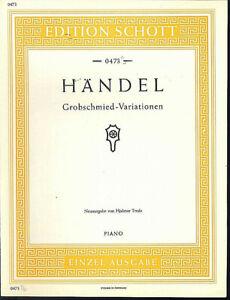 HANDEL-Grobschmied-Variationen