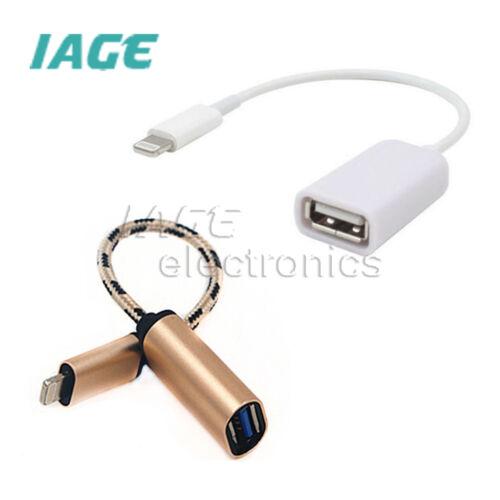 OTG USB Adapter Connector Data Transfer Kable  für iPad 4 iPad mini Air