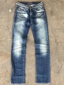 Acne 34 Droite Femme Pure Jambe Taille Studio Jeans 28 rYw8Cr