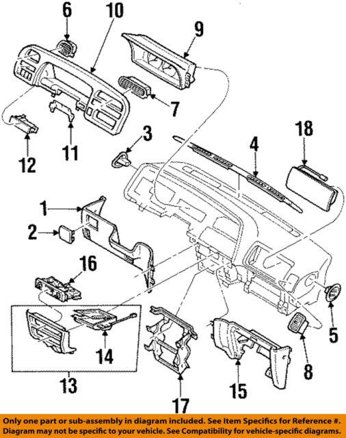 1995 Isuzu Trooper Engine Diagram