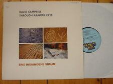 David Campbell Through Arawak Eyes LP 1984