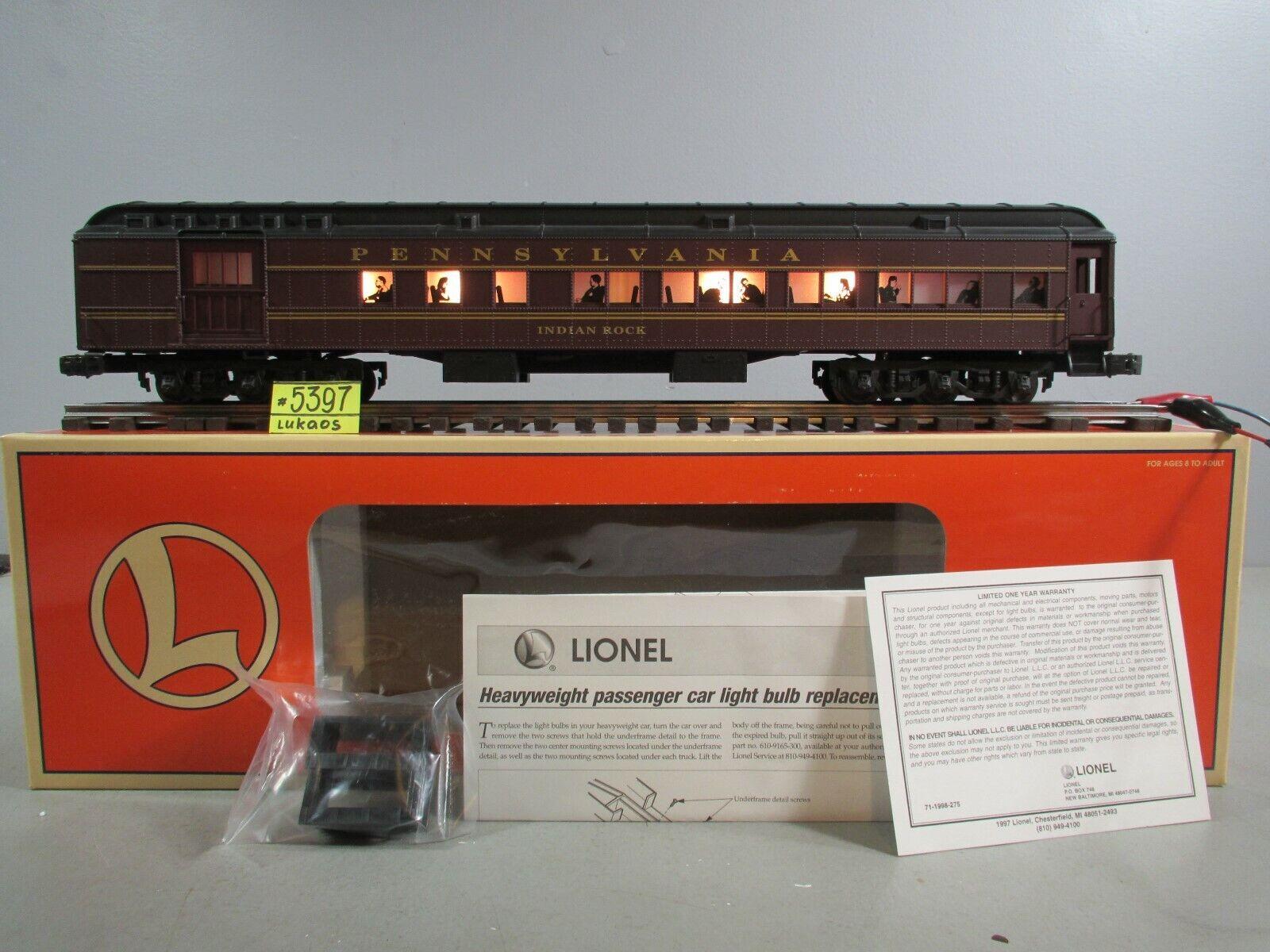 venta con alto descuento Coche Lionel Combo Pennsylvania    Indian Rock  6-39009 nuevo O.B.  comprar marca