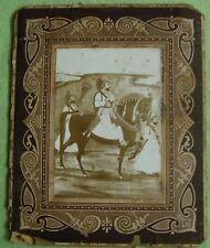 VINTAGE ORIGINAL BLACK & WHITE PHOTOGRAPH  OF JODHUPR MAHARAJA RAM SINGH