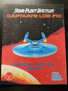1x-Captain-039-s-Log-10-Special-Tactics-Issue-Used-Good-Star-Trek-Star-Fleet-Batt