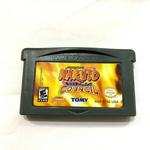 Naruto-Ninja-Council-Game-Boy-Advance-GBA-Game-Tested-Working-Authentic
