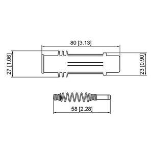 Prenco 36-2111 Direct Ignition Coil Boot