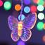 96-LED-Butterfly-Curtain-Fairy-String-Lights-Lamp-Xmas-Romantic-Wedding thumbnail 6