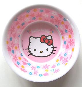 Coupelle Hello Kitty Sanrio p: os NOUVEAU M.E Fleurs Roses Bol À Céréales Enfants Bébé  </span>