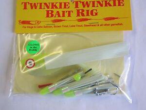 TWINKIE TWINKIE BAIT RIG,3 FLY BAIT RIG,MEAT RIG,RHYS DAVIS MEAT RIG,SALMON RIG