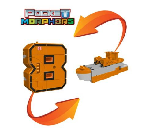 EMCO POCKET MORPHERS TRANSFORMABLE ACTION FIGURES CHOOSE YOUR NUMBER 0-9 COLLECT