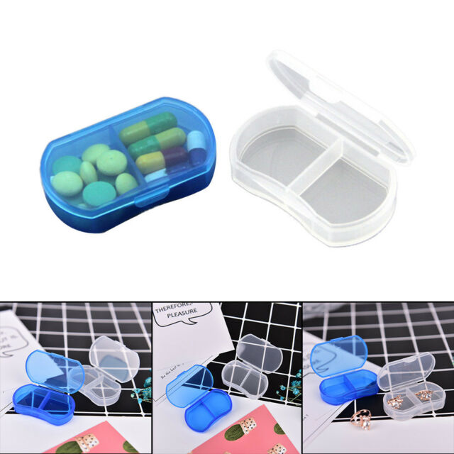 Portable Plastic Pill Box Medicine Case For Healthy Care With Temporary StoragFO
