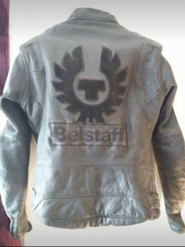 Ladies Jacket Motor Belstaff 14 Leather Size AvA81