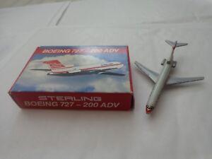 906-63-Schabak-1-600-BOEING-727-200-ADV-Sterling-AIRLINES-Diecast-aerei-aereo