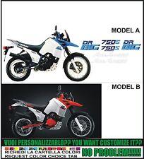 kit adesivi stickers compatibili dr big 750 s 1988 white