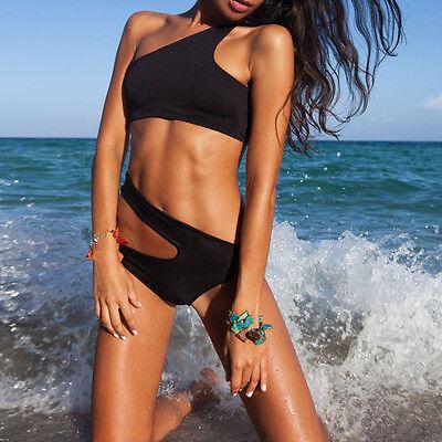 Sexy Black Women&Lady's One-Piece Swimwear Bandage Monokini Swimsuit Bikini