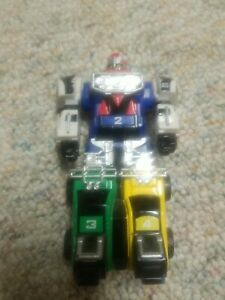 """Power Rangers 1997 Roll & Stand 5"""" Turbo Megazord No Weapons"""