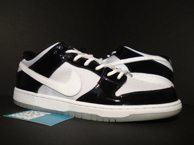 2013 Nike Dunk Low Pro SB BLACK WHITE ICE BLUE CONCORD PURPLE 304292-043 NEW 8