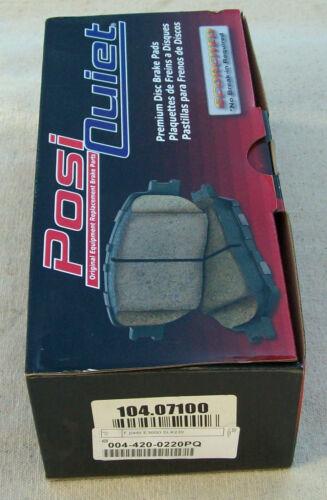 Centric Parts 104.07100 Front Brake Pad Set