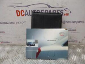 2002-AUDI-A4-1-9-TDI-DIESEL-SALOON-MANUAL-OWNERS-MANUAL-WALLET-PACK