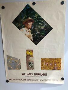 WILLIAM-BURROUGHS-ART-EXHIBIT-POSTER-TONY-SHAFRAZI-GALLERY-NYC-DEC-JAN-1988-034-034