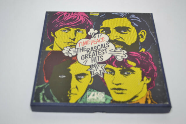 Time Piece,The Rascals Greatest Hits(NM Tape,NM-/NM Box,7 1/2 IPS,ALC 8190,1968)