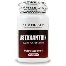Dr. Mercola Astaxanthin - 30 Capsules - 300 mg ALA Per Capsule - Antioxidant -