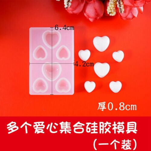 Moon //Star//Cat Cabochon Silicone Mold Mould Epoxy Resin DIY Pendent Craft MA