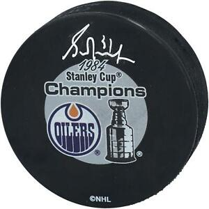 Grant-Fuhr-Edmonton-Oilers-Signed-1984-Stanley-Cup-Champions-Logo-Hockey-Puck