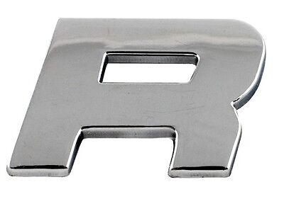 Letter U Sumex Branded Chrome 3D Sticker Self Adhesive Car /& Home Emblem Badge